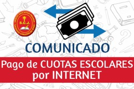 PAGO DE CUOTAS ESCOLARES POR INTERNET