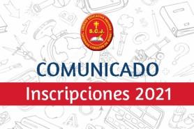 INSCRIPCIONES – GESTIÓN 2021